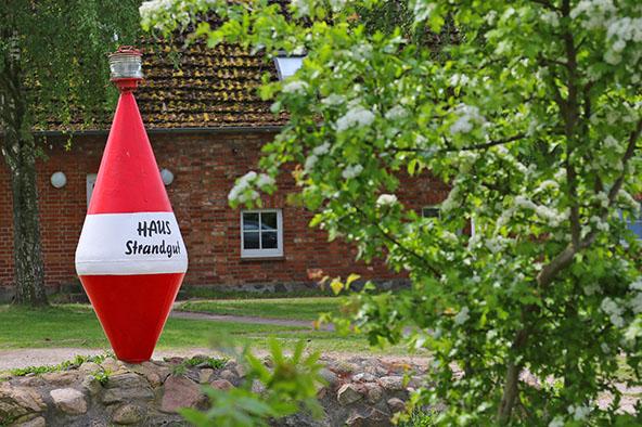 Großen Ferienhaus an der Ostsee